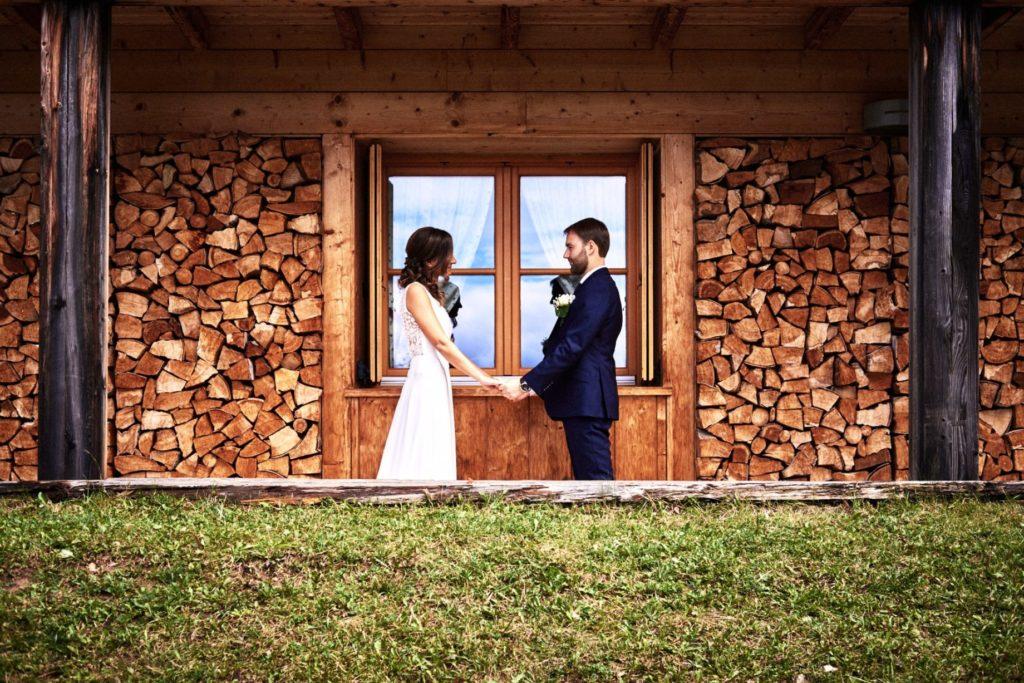 reportage di matrimonio in montagna