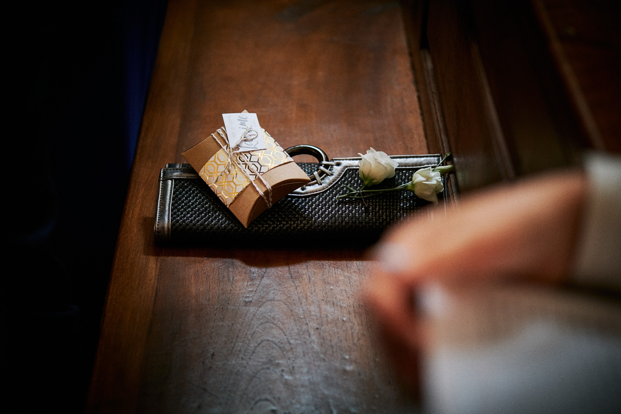 Lacrime di gioia fazzoletti matrimonio